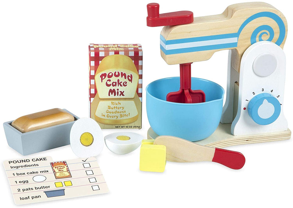 Melissa & Doug Make-A-Cake Mixer Set 131146