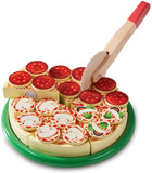 Melissa & Doug Pizza Party Wooden Play Food 131821