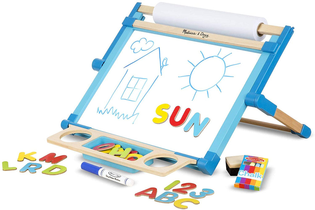 Melissa & Doug Double-Sided Tabletop Easel 131828