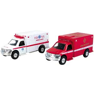Assorted Ambulance Pullbacks