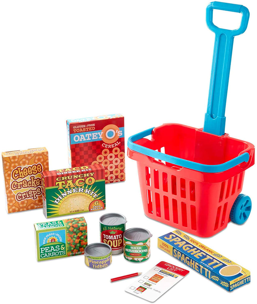 Melissa & Doug Grocery Basket Play Set 131137