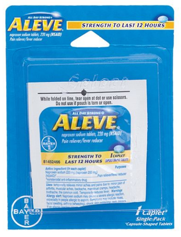 Aleve 1 Caplet Single-Pack 122062