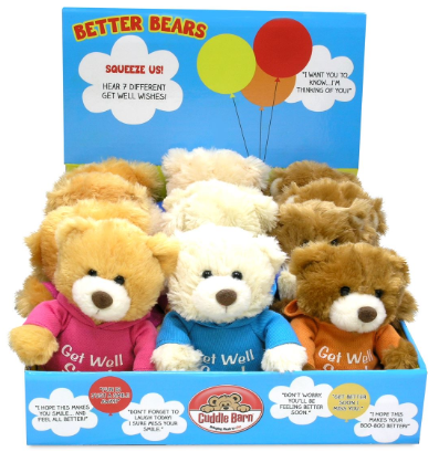 Cuddle Barn Better Bear Squeezers - 126223