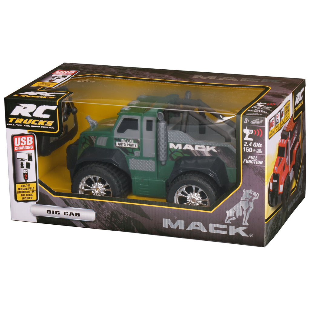 Kid Galaxy - RC Mack Big Cab With Rechargeable Battery