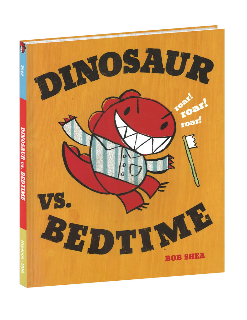 DInosaur Book VS Bedtime by Bob Shea