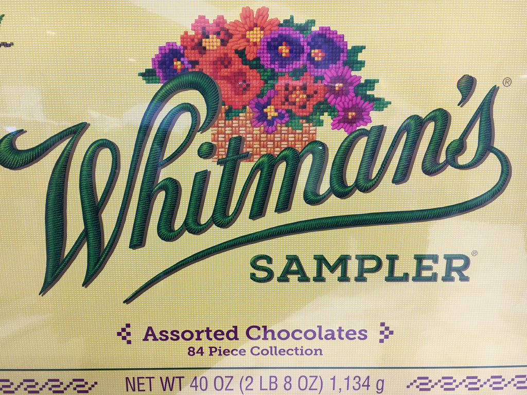 Whitman Sampler Chocolates 84 pcs.