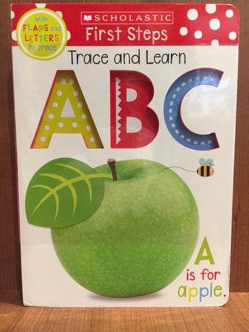 "Book - ""Trace and Learn ABC""  9781338255911"