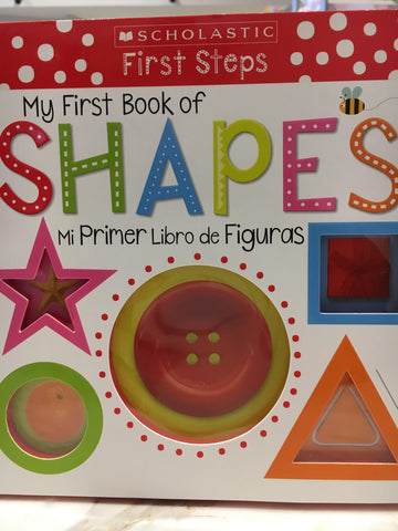 "Book - ""My First Book of Shapes"" - 9781338727106"