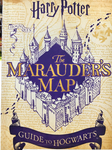 "Book - Harry Potter ""The Marauder's Map 127477"