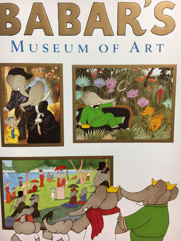 "Book- ""Babar's Museum of Art"""
