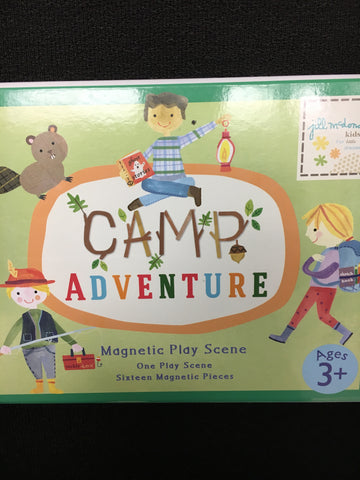Camp Adventure - Magnetic Play Scene 124075