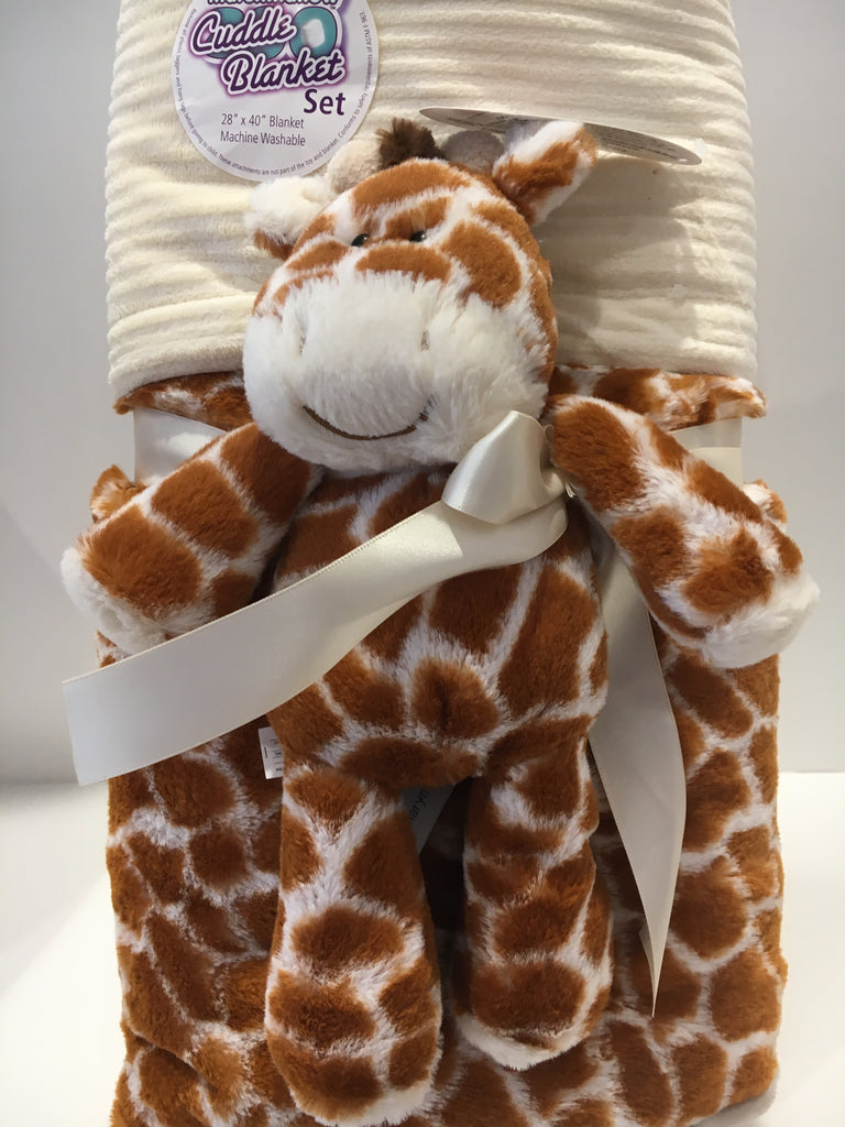 Blanket - Mary Meyer Giraffe Cuddle 125061