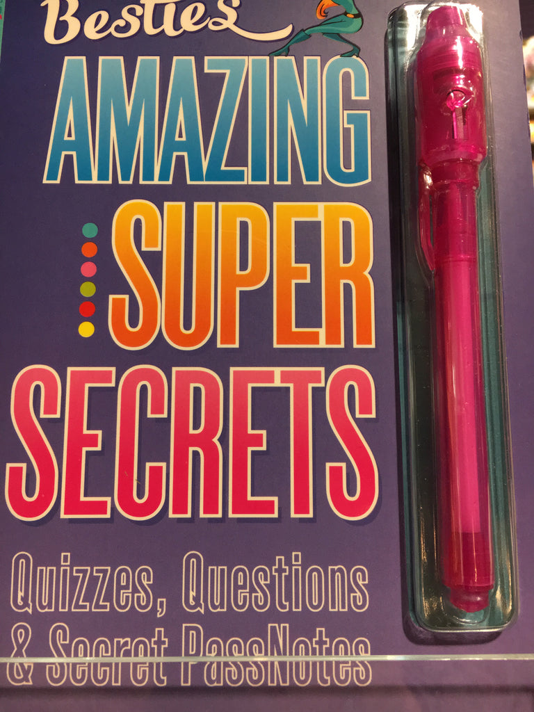 Amazing Super Secrets 125962