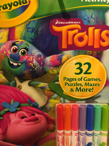 Crayola Coloring and Activity Assorted 125637