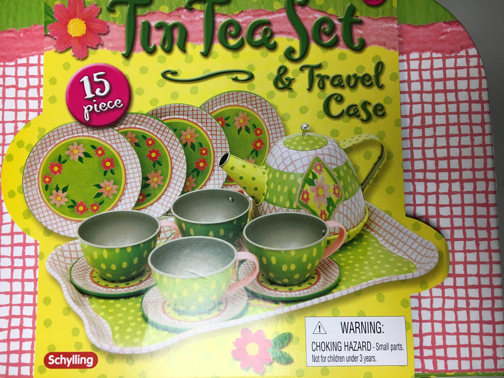 Children's Tin Tea Set 125548