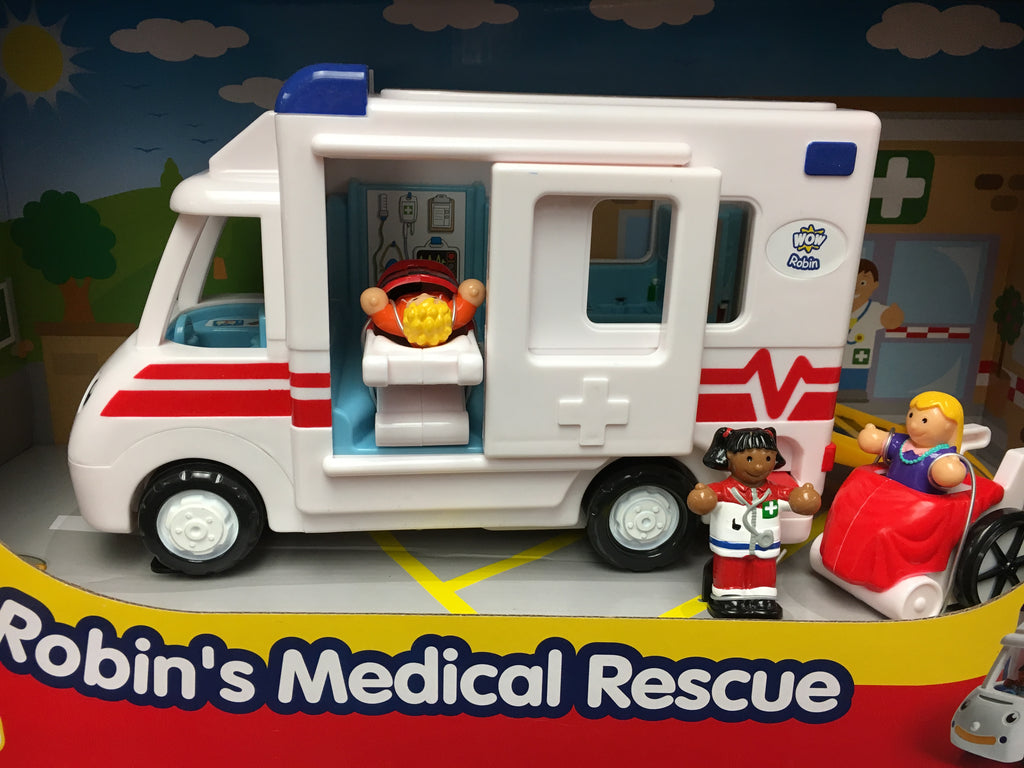 Wow Toys Robin's Medical Rescue 125787