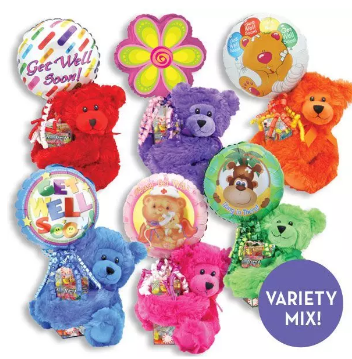 Rainbow Bear Kelliloons - Variety Mix 121302