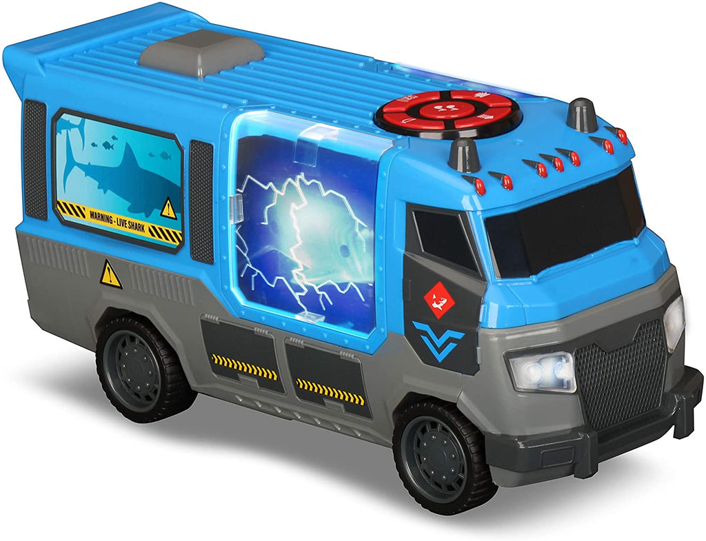 Kid Galaxy - Road Rockers Motorized Escape Truck with Sound, Shark, Multicolor