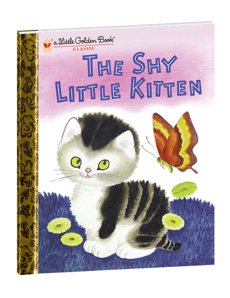 The Shy Little Kitten Golden Book