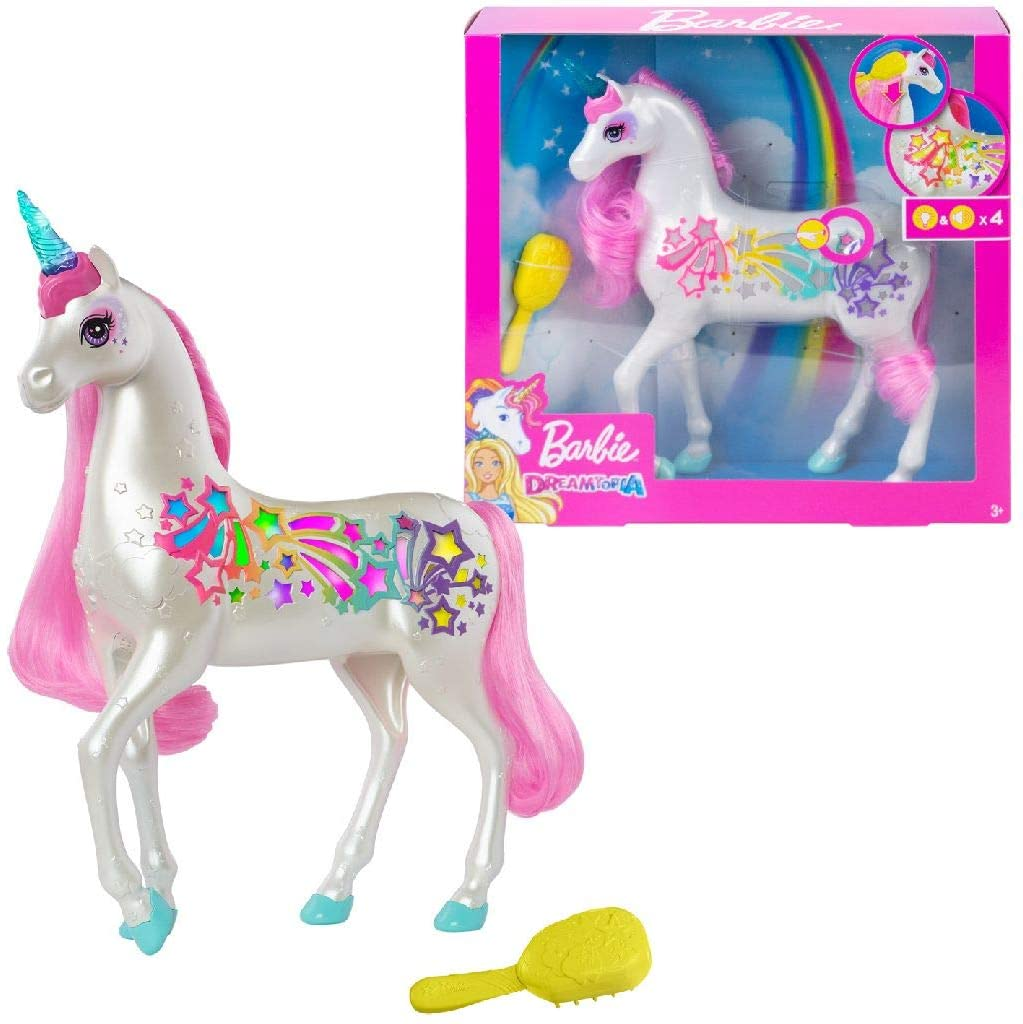 Barbie Dreamtopia Brush 'n Sparkle Unicorn 128530
