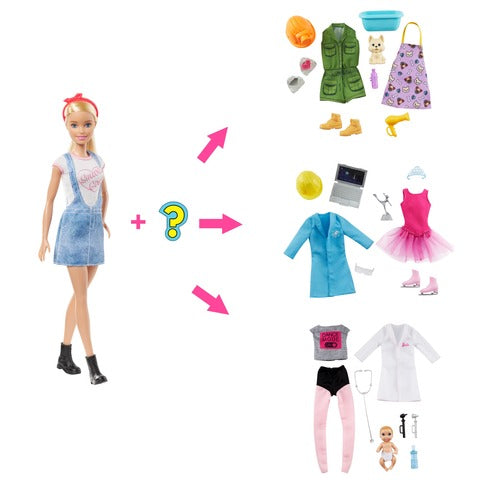 Barbie Surprise Careers Doll 129235