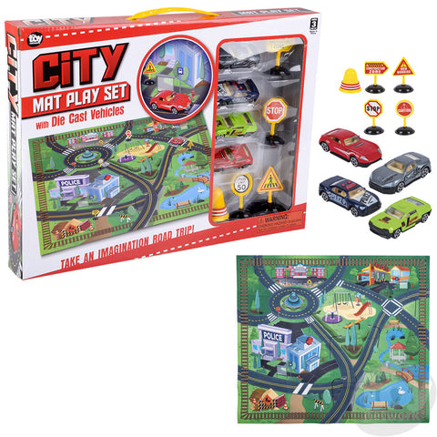 Diecast Car Play Set 132007