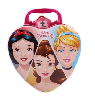 Disney Princess Metallic Heart Tin Perfume 100 mL