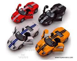 Ford GT Pullback Toy Cars 129845