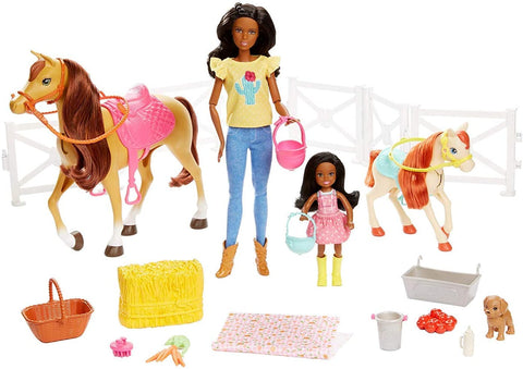 Barbie Hugs N Horses Playset 131455