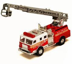 Fire-Engine Pullback Toy Cars 99234 132018