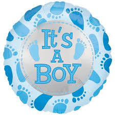 Balloon - Baby (It's a Boy)