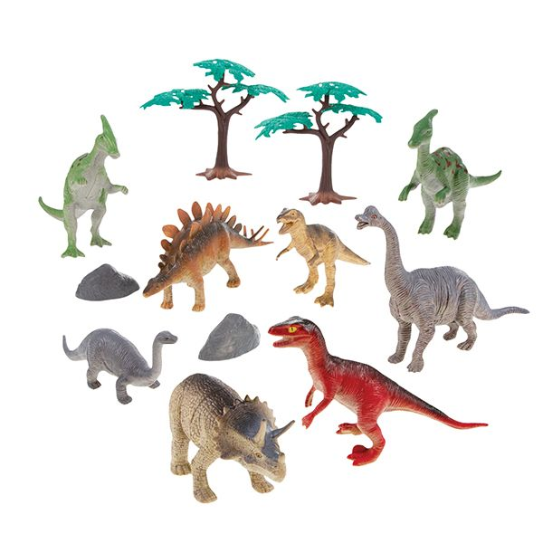 National Geographic Dinosaurs Playset