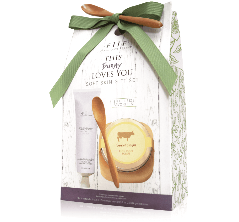 Farmhouse This Bunny Loves You Gift Set 131083