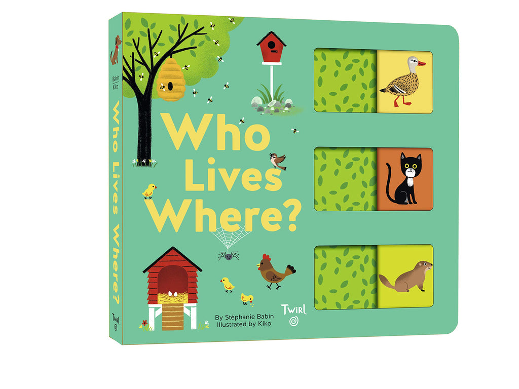 Who Lives Where? Book
