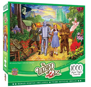 1000-Piece Puzzle - The Wizard of Oz 133031