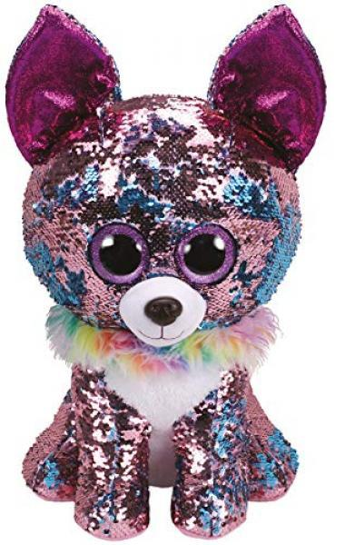 Ty Sequinned Flippables 'Yappy' 127686