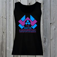 Nakatomi Corporation Women's Lady Fit Tank Top (Retro)