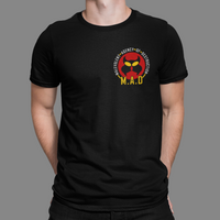 M.A.D Malevolent Agency of Destruction Crest T-Shirt
