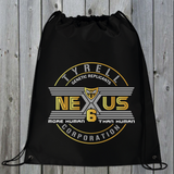 Tyrell Corporation Nexus 6 Drawstring Bag (Gold)