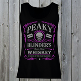 Peaky Blinders Razor Sharp Whiskey T-Shirt (Pink)