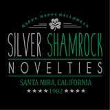 Silver Shamrock Novelties Drawstring Bag