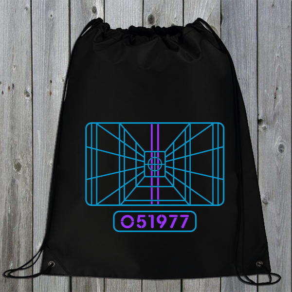 X-Wing Stay on Target Drawstring Bag (Retro)