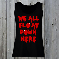 We All Float Down Here Pennywise Women's Lady Fit Tank Top