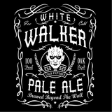 White Walker Pale Ale Women's Lady Fit Tank Top. (White)