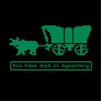 You Have Died Of Dysentery Oregon Trail T-Shirt