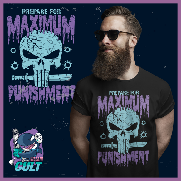 Maximum Punishment T Shirt (Retro) Unisex S T-Shirts