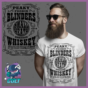 Peaky Fookin Blinders Whiskey T-Shirt T-Shirts