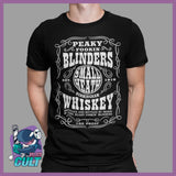Peaky Fookin Blinders Whiskey T-Shirt
