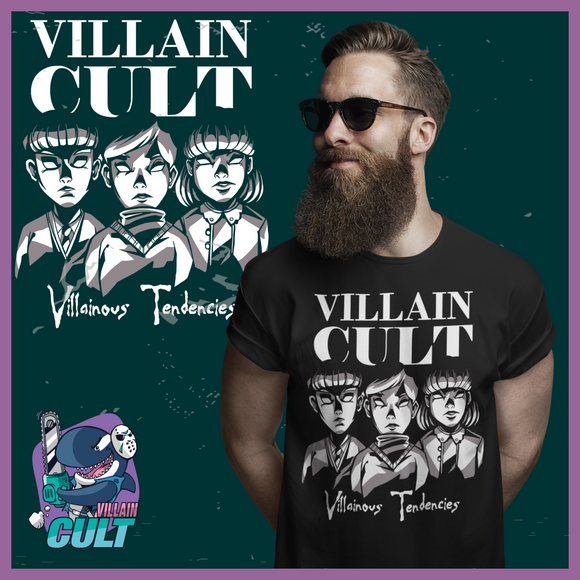 Villain Cult Creepy Kids T Shirt Unisex S T-Shirts
