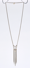 tassel curb chain native brass necklace #3